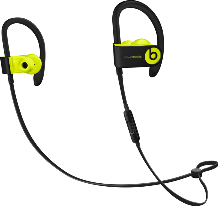 Beats Powerbeats3, žlutá