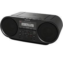 Sony ZSRS60BT, černá - ZSRS60BT.CET + Sluchátka SONY MDR-ZX110 v ceně 499 Kč