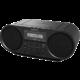 Sony ZSRS60BT, černá  + Sluchátka SONY MDR-ZX110 v ceně 499 Kč