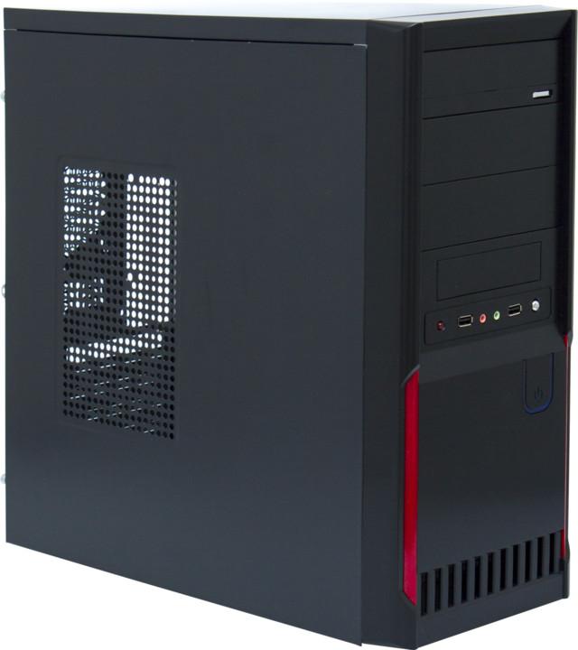 Crono MT-38, černá/červená
