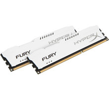 Kingston HyperX Fury White 8GB (2x4GB) DDR3 1333 CL 9 - HX313C9FWK2/8