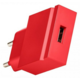 USBEPower POP Pocket charger 1USB stand, růžovooranžová