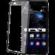 CELLY Laser - lemování s kovovým efektem TPU pouzdro pro Huawei P10 Plus, černé