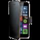 CELLY Wally pouzdro pro Microsoft Lumia 640, PU kůže, černá