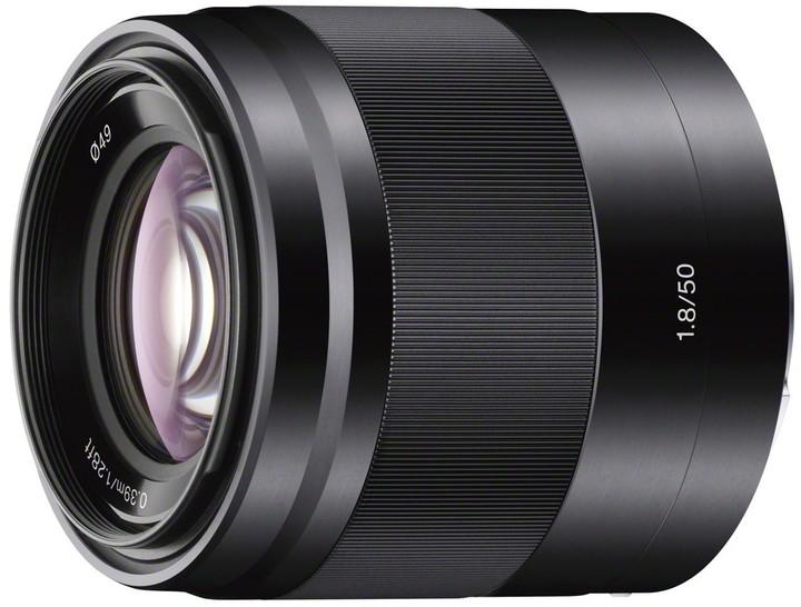 Sony SEL50F18 objektiv 50mm/F1,8