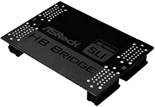 ASRock SLI BRIDGE 2way (podpora 2K60Hz, 2K120Hz+, 4K, 5K, nVidia surround)
