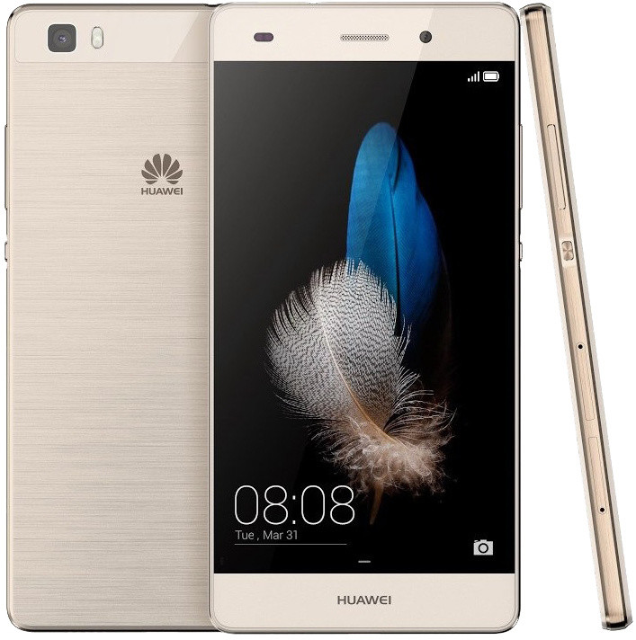 Huawei P8 Lite Dual SIM, zlatá