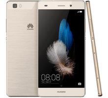 Huawei P8 Lite Dual SIM, zlatá - SP-P8LITEDSGOM + Zdarma Huawei Original BT reproduktor AM08 Gold (EU Blister) (v ceně 699,-)