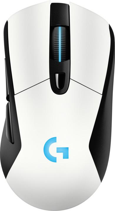 Logitech G703 Lightspeed, bílá