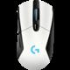 Logitech G703 Lightspeed, bílá  + Podložka CZC G-Vision Dark v ceně 200kč