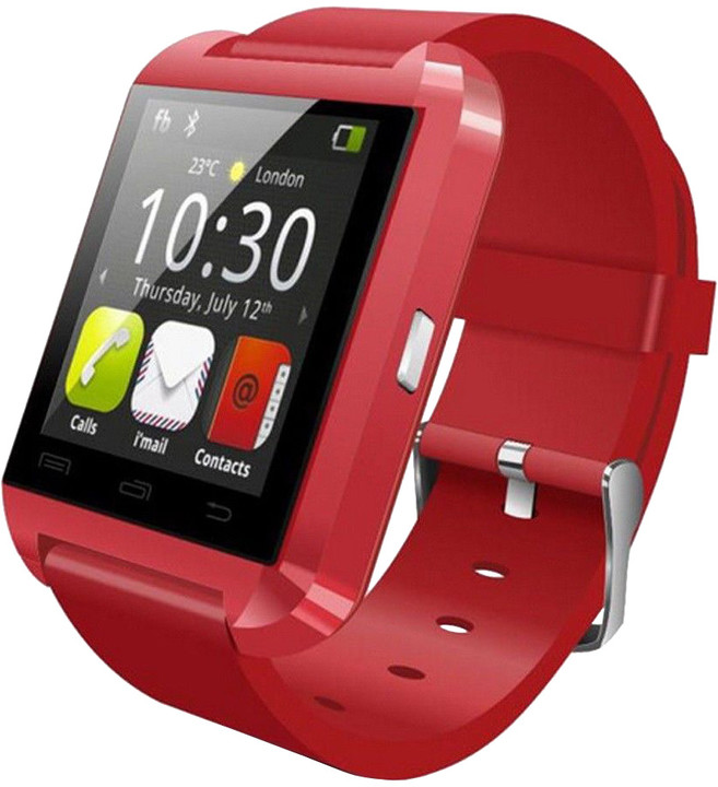 U Watch U8 SmartWatch, červená