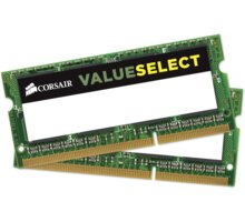 Corsair Value 8GB (2x4GB) DDR3 1600 SODIMM CL 11 - CMSO8GX3M2C1600C11