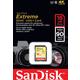 SanDisk SDHC Extreme 16GB 90MB/s UHS-I U3