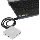 i-Tec USB 3.0 Hub 7-Port, metal