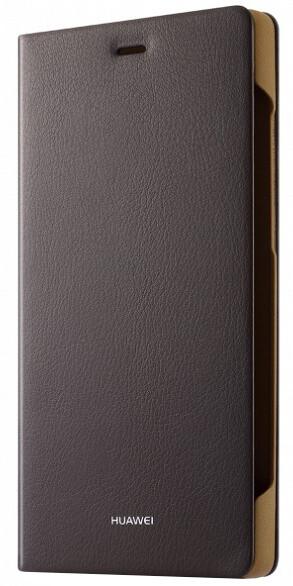 Huawei Folio pouzdro pro P8, hnědá