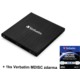 Verbatim Slimline, externí, USB 3.0, černá