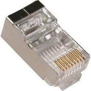 PremiumCord Konektor RJ45, STP, na drát/lanko