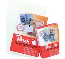 PEACH laminovací fólie 54x86 (creditcard), 125mic, 100ks - PP525-07