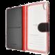 FIXED FIT pouzdro typu kniha pro Sony Xperia E5, černé