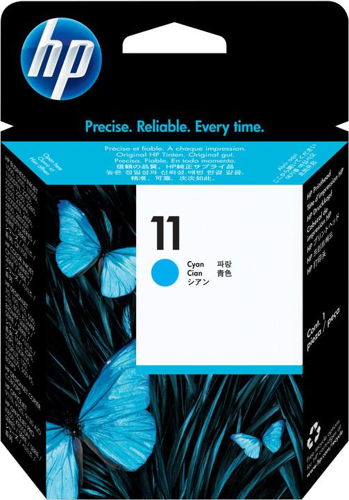 HP C4811A, no.11, azurová