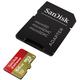 SanDisk Micro SDXC Extreme pro akční kamery 64GB 90MB/s UHS-I U3 + SD adaptér