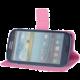 """Forever knížkové pouzdro (smartcase) typ c top univerzální 4,8-5,2"""" - růžové"""