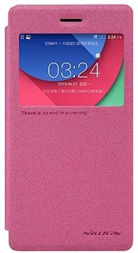 Nillkin Sparkle S-View pouzdro pro Lenovo Z90, růžová