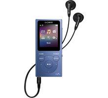 Sony NWZ-E394, 8GB, modrá - NWE394L.CEW
