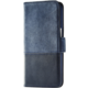 Holdit Wallet case Samsung Galaxy S7 - Blue Leath/Suede