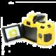 Easy Cover silikonový obal pro Nikon D5200, žlutá