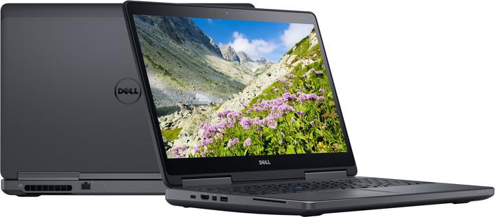 Dell Precision 15 (7510) Touch, černá