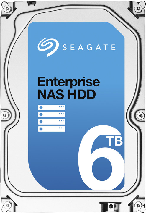 Seagate Enterprise NAS- 6TB + Rescue