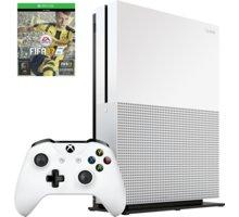 XBOX ONE S, 1TB, bílá + FIFA 17 - 234-00032