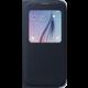 Samsung pouzdro S View EF-CG920B pro Galaxy S6 (G920), černá
