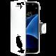 CELLY Wally Pouzdro typu kniha pro Samsung Galaxy S7, PU kůže, bílé
