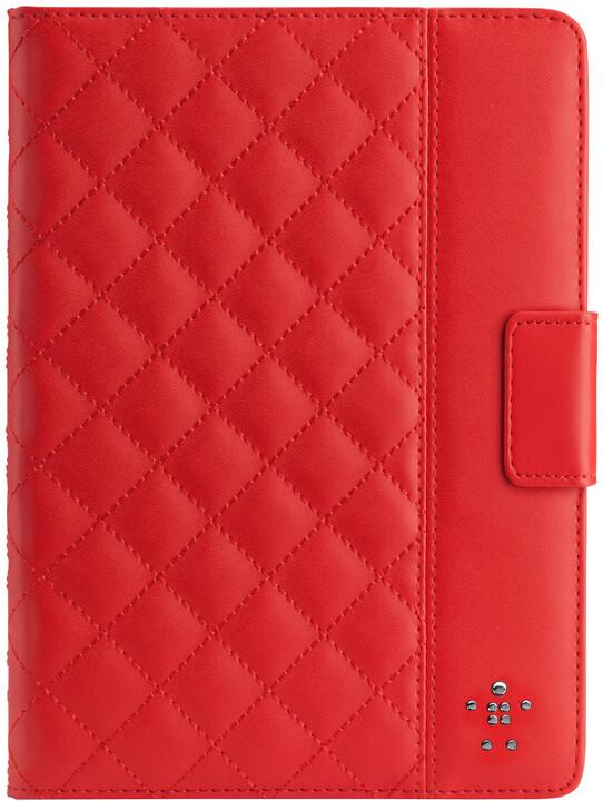 Belkin pouzdro Quilted pro iPad Air, červená