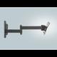 Meliconi 580415 CME Double Rotation EDR 120 nástěnný náklonný držák na TV, černá