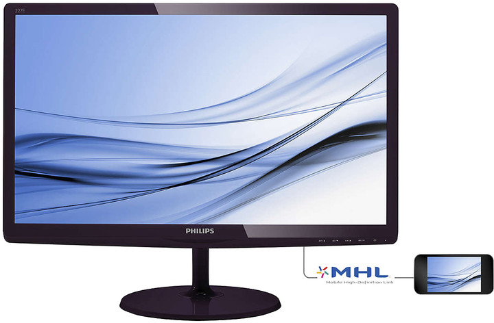 Philips 227E6EDSD FHD - LED monitor 22""