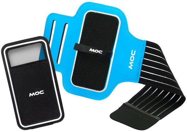 MOC Sport Armband + Slip in phone bag XL, modrá