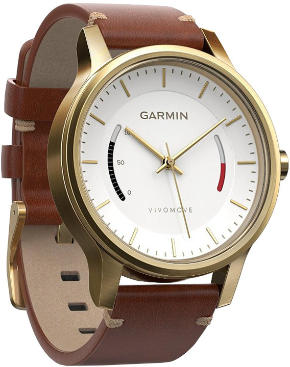GARMIN Vívomove Premium Gold Tone Steel