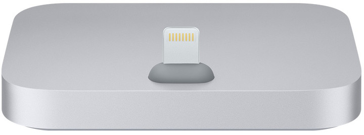 Apple iPhone Lightning Dock, šedá