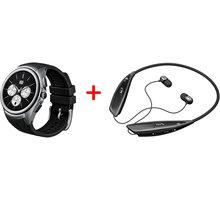 LG Watch Urbane W200 3G black/černá + sluchátka - LG-W200E+ultra + Zdarma GSM LG LG TONE ULTRA (HBS-810) ( v ceně 1599,-)