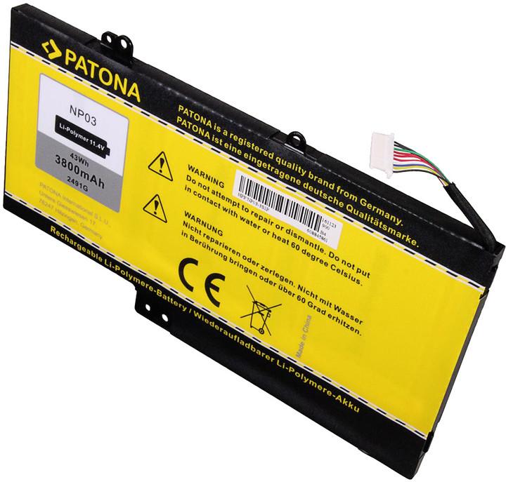 Patona baterie pro HP Pavilion 13 3800mAh Li-Pol 11,4V NP03XL