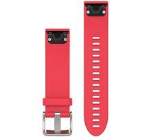 GARMIN náhradní řemínek pro Fenix 5S QuickFit™ 20, růžový - 010-12491-14
