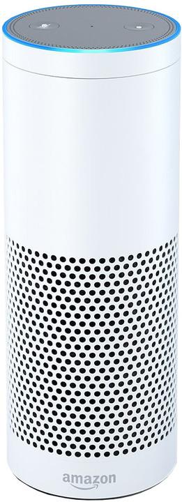 Amazon Echo - reproduktor s umělou inteligencí, bílá (EU distribuce) + redukce EU