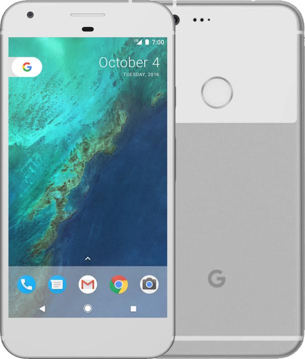 Google Pixel XL - 32GB, stříbrná