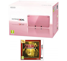 Nintendo 3DS Pink + The Legend of Zelda LBWS - NI3H0410