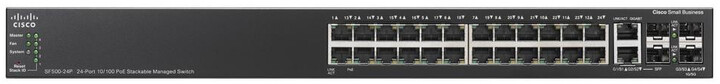 Cisco switch SF500-24P