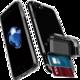 Spigen Flip Armor pro iPhone 7, gunmetal