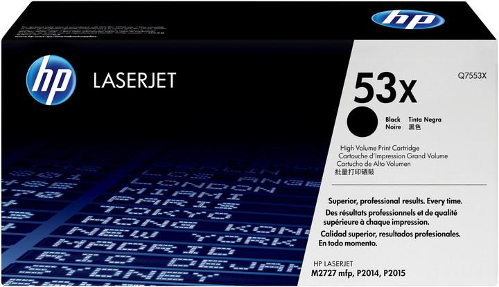 HP Q7553X, černý